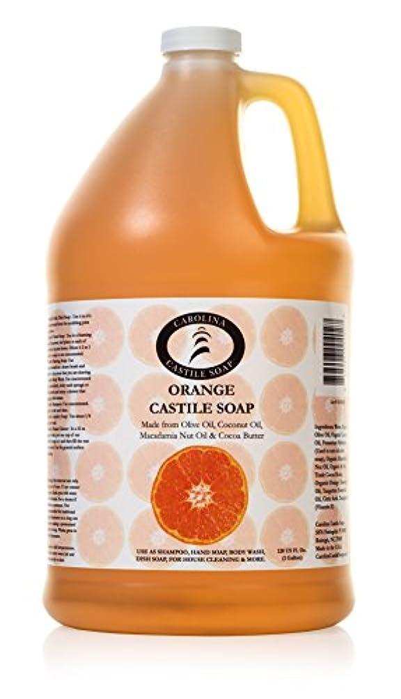 さようなら振る舞い迷信Carolina Castile Soap オーガニックカカオバターオーガニック 1ガロン
