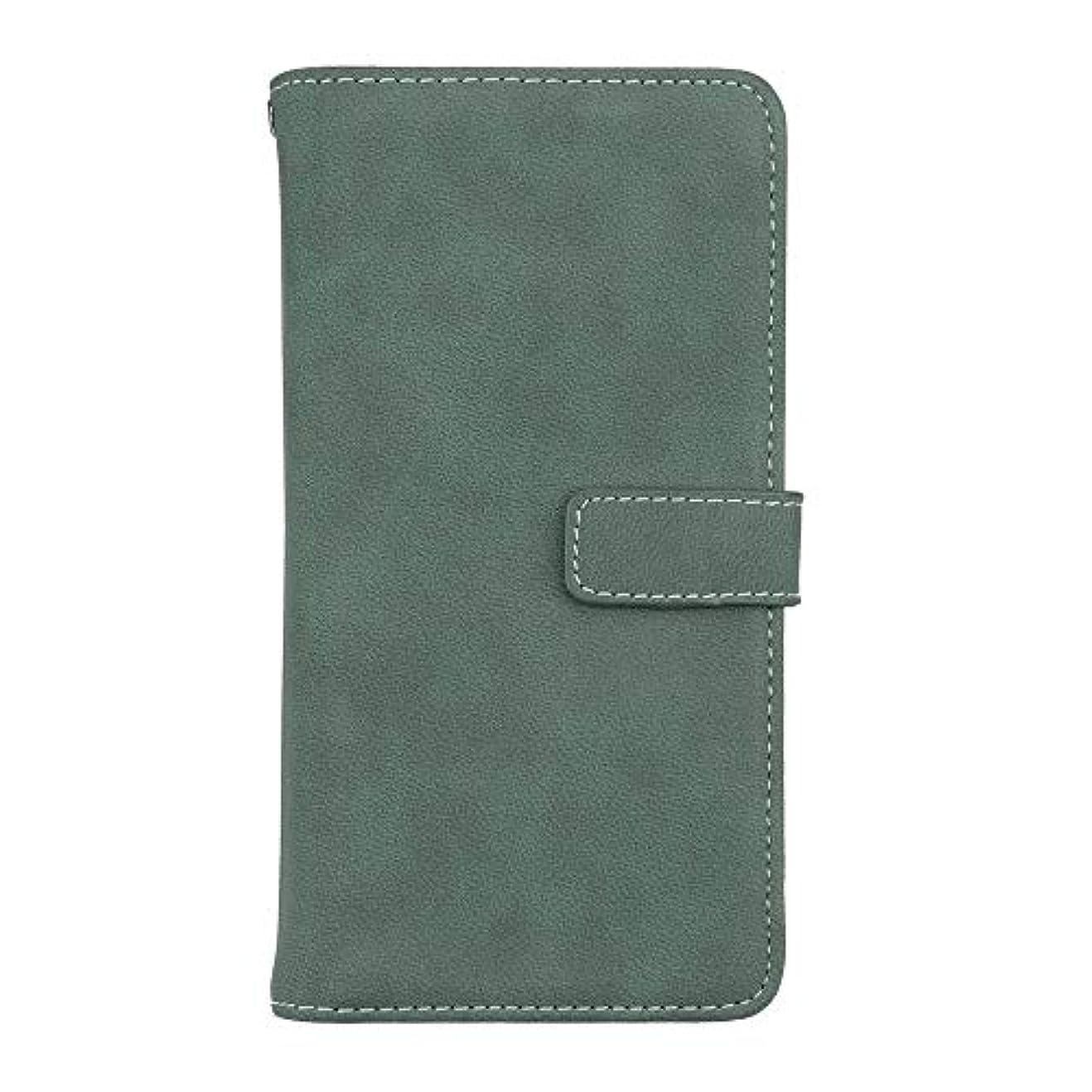 その間バングわずかなXiaomi Redmi Note 5 高品質 マグネット ケース, CUNUS 携帯電話 ケース 軽量 柔軟 高品質 耐摩擦 カード収納 カバー Xiaomi Redmi Note 5 用, グリーン