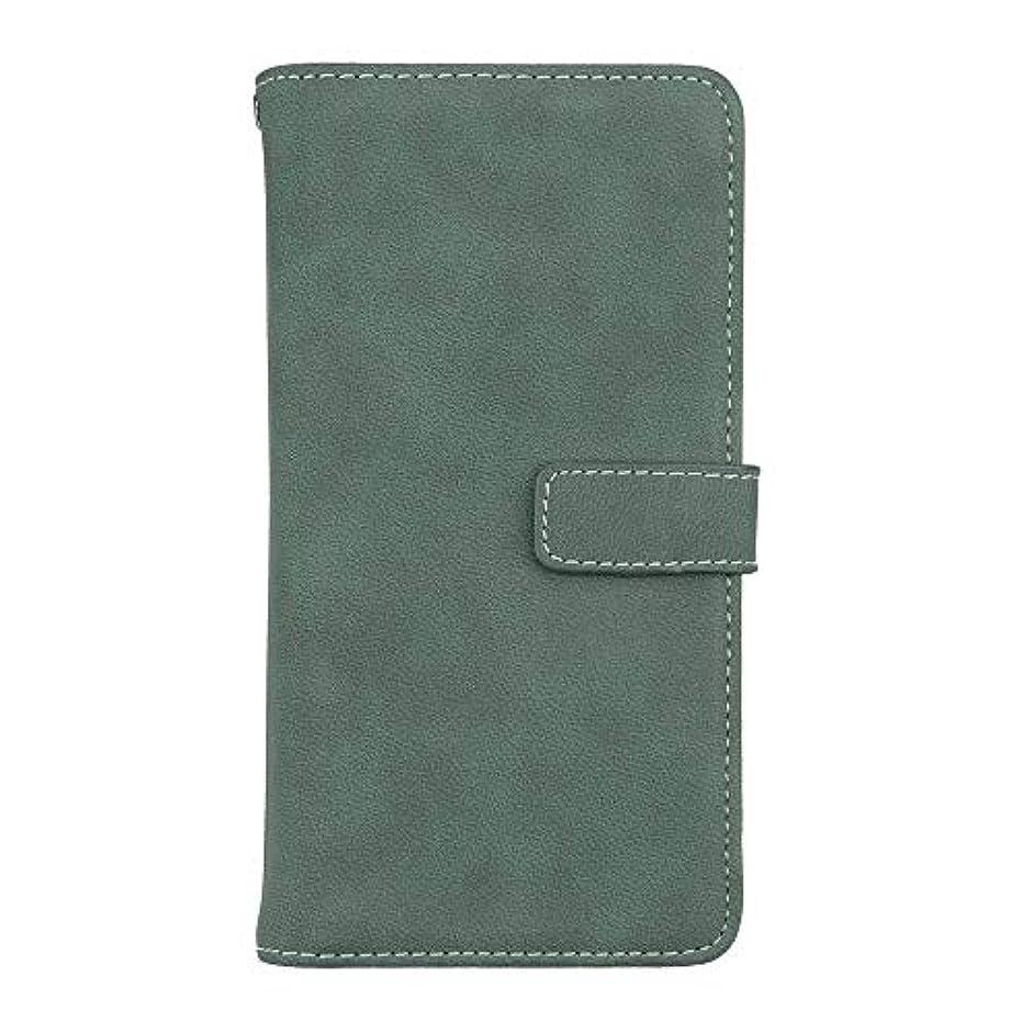 災害届ける誰かXiaomi Redmi Note 5 高品質 マグネット ケース, CUNUS 携帯電話 ケース 軽量 柔軟 高品質 耐摩擦 カード収納 カバー Xiaomi Redmi Note 5 用, グリーン