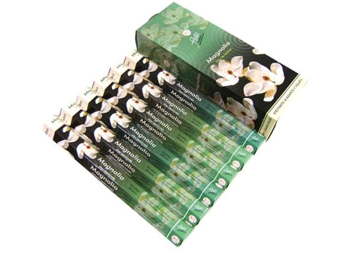 世界に死んだ物理木材FLUTE(フルート) マグノリア香 スティック MAGNOLIA 6箱セット