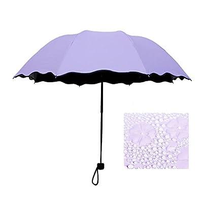 Honeystore Blossom Magic Compact Umbrella Triple Folding Anti-uv Dome Parasol