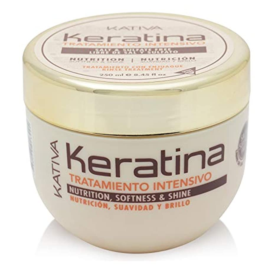きちんとしたメイン勇敢なKativa Keratina栄養マスク250 ml。