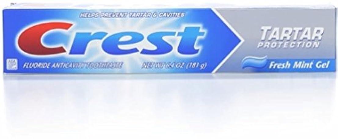 僕のコーデリアあいまいなCrest タルタルジェルWHTサイズ6.4Zフレッシュミントタルタル保護ジェル 6パック