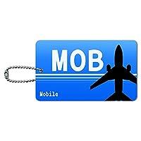 モバイルAL(MOB)空港コード IDカード荷物タグ