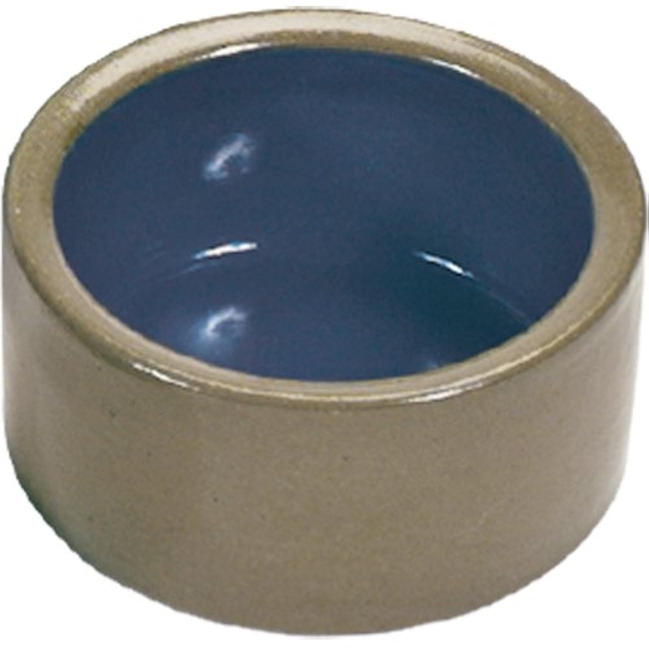 ファン鋸歯状高音Super Pet Stoneware 5inches Diameter Pet Dish Durable Chew Proof Ceramic Bowls