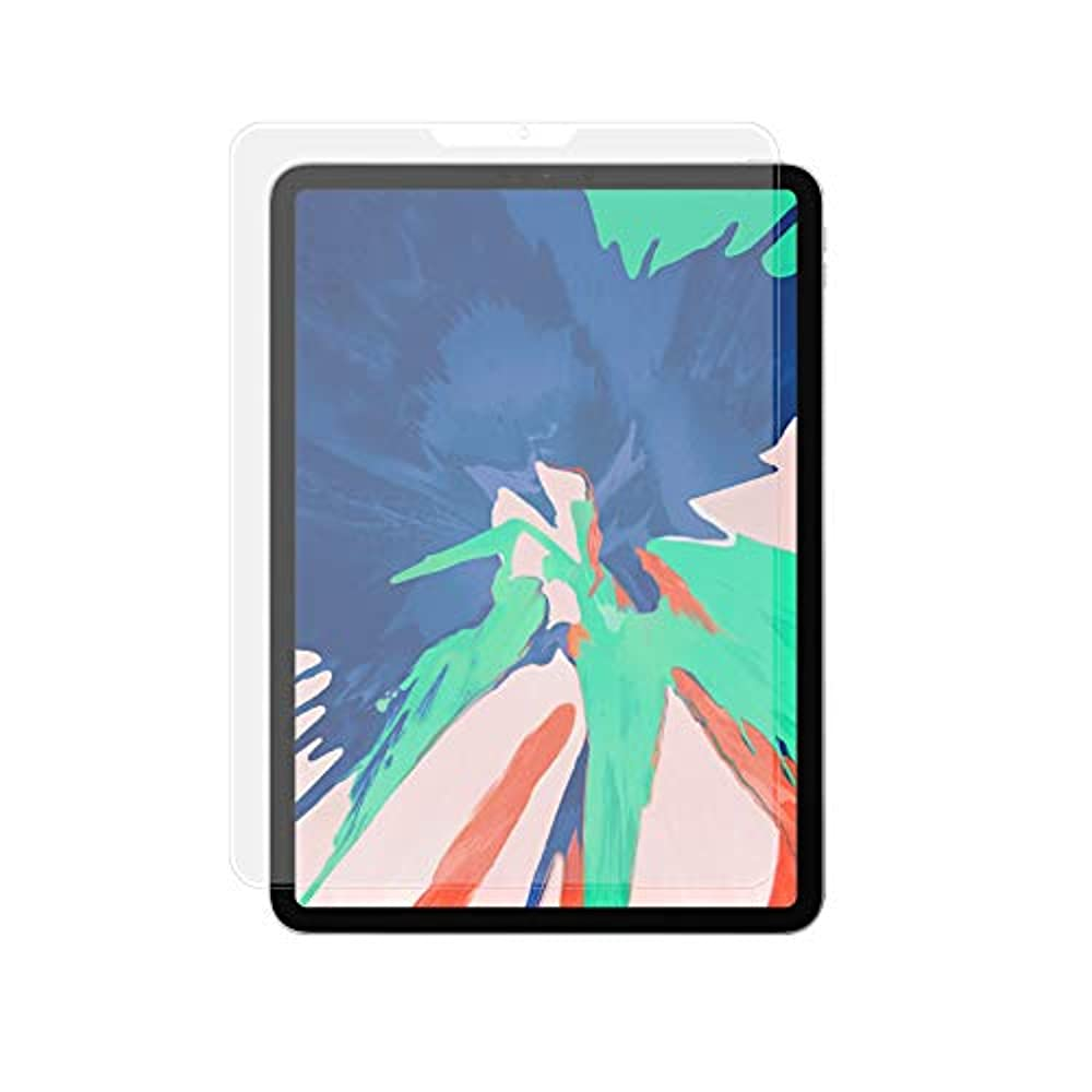 縁より平らな年次\2018年モデル対応/ クロスフォレスト 11インチ iPad Pro用 アンチグレア ガラスフィルム 液晶保護フィルム NEWCF-GHIP11AG