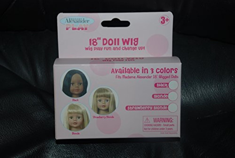 18インチ人形WigパックStrawberryブロンド