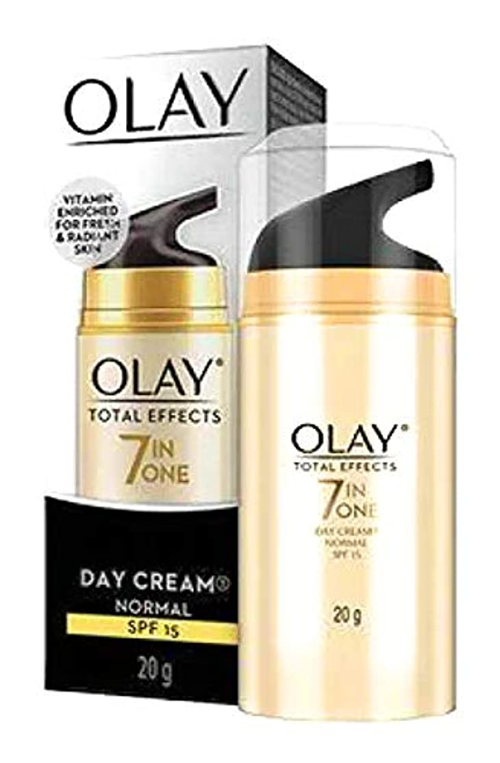OLAY TOTAL EFFECTS 7 IN ONE DAY CREAM【SPF15】20g [並行輸入品]