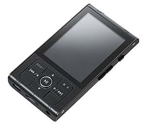 グリーンハウス MP3プレーヤー kana RT 8GBメモリー内蔵 microSD/microSDHC(~32GB)対応 ブラック GH-KANART8-BK