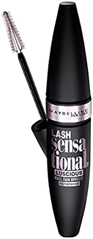 Maybelline Lash Sensational Luscious Lengthening Waterproof Mascara - Very Black