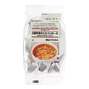 無印良品 食べるスープ 5種野菜のミネストローネ 4食