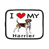 I Love My HarrierタブレットiPadケース–1st世代iPad–iPad 2–新しいiPad–iPad 3–iPad 4–FitsすべてiPadsとタブレット