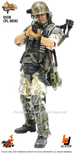 ムービー・マスターピース  - 1/6 Scale Fully Poseable Model : Aliens USCM Corporal Hicks