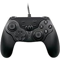 scorel ニンテンドースイッチ 専用 有線コントローラー USB接続 振動・連射機能搭載 高耐久ボタン 日本取扱説明書付き
