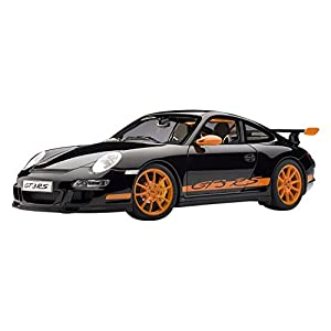 AUTOart 1/12 ポルシェ 911 (997) GT3 RS (ブラック・オレンジ) 完成品