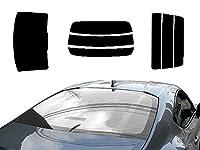 AUTOMAX izumi リアガラスのみ (s) ランドクルーザー J8 A (ミラー銀) カット済み カーフィルム HZJ81V FJ80G FZJ80 80系 トヨタ