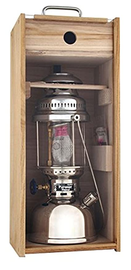 一般化する繰り返した壮大なPETROMAX(ペトロマックス) 灯油ランタン 木製ケース  HK500用 【日本正規品】 12372