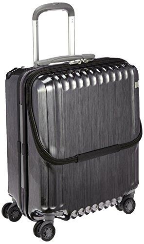 [エース] スーツケース パリセイドZ 機内持込可 36L 3.3kg 05581 45 cm ヘアラインブラック