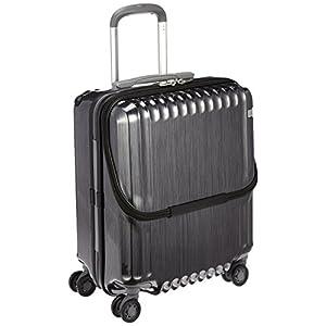 [エース] ace. スーツケース パリセイドZ 45cm 36L 3.3kg 機内持込可 双輪キャスター 05581 01 (ヘアラインブラック)