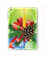 iPad mini カバー ケース アイパッド ミニ Apple クリスマス イニシャルN