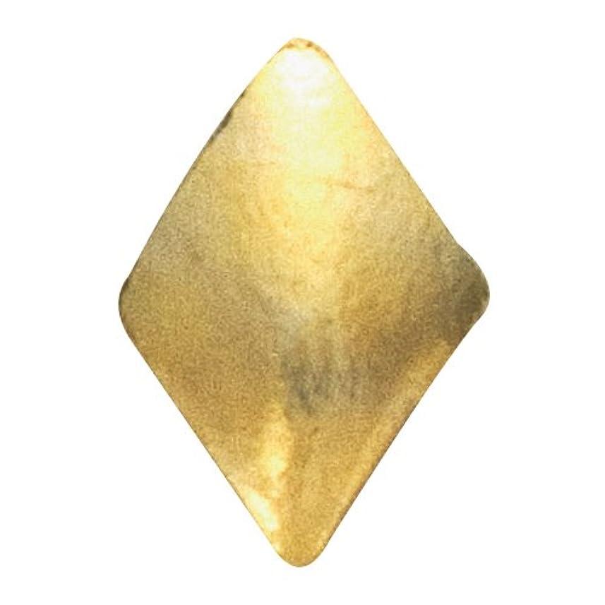 高度な地域句読点リトルプリティー ネイルアートパーツ スタッズダイヤ 2×3mm ゴールド 50個