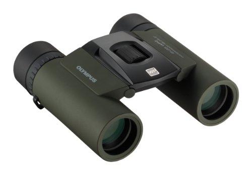 OLYMPUS 双眼鏡 8x25 小型軽量 防水 グリーン ...
