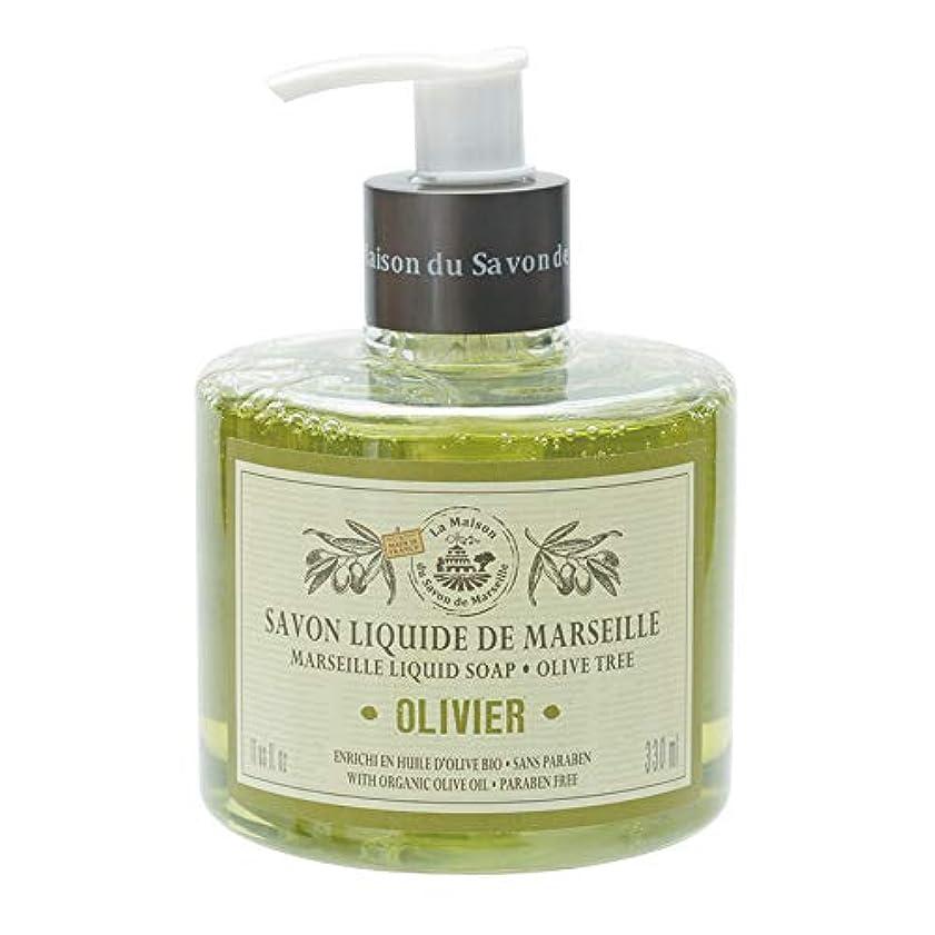 フクロウフェローシップスペアノルコーポレーション マルセイユ石鹸 リキッドソープ 330ml オリーブの香り MLL-1-4