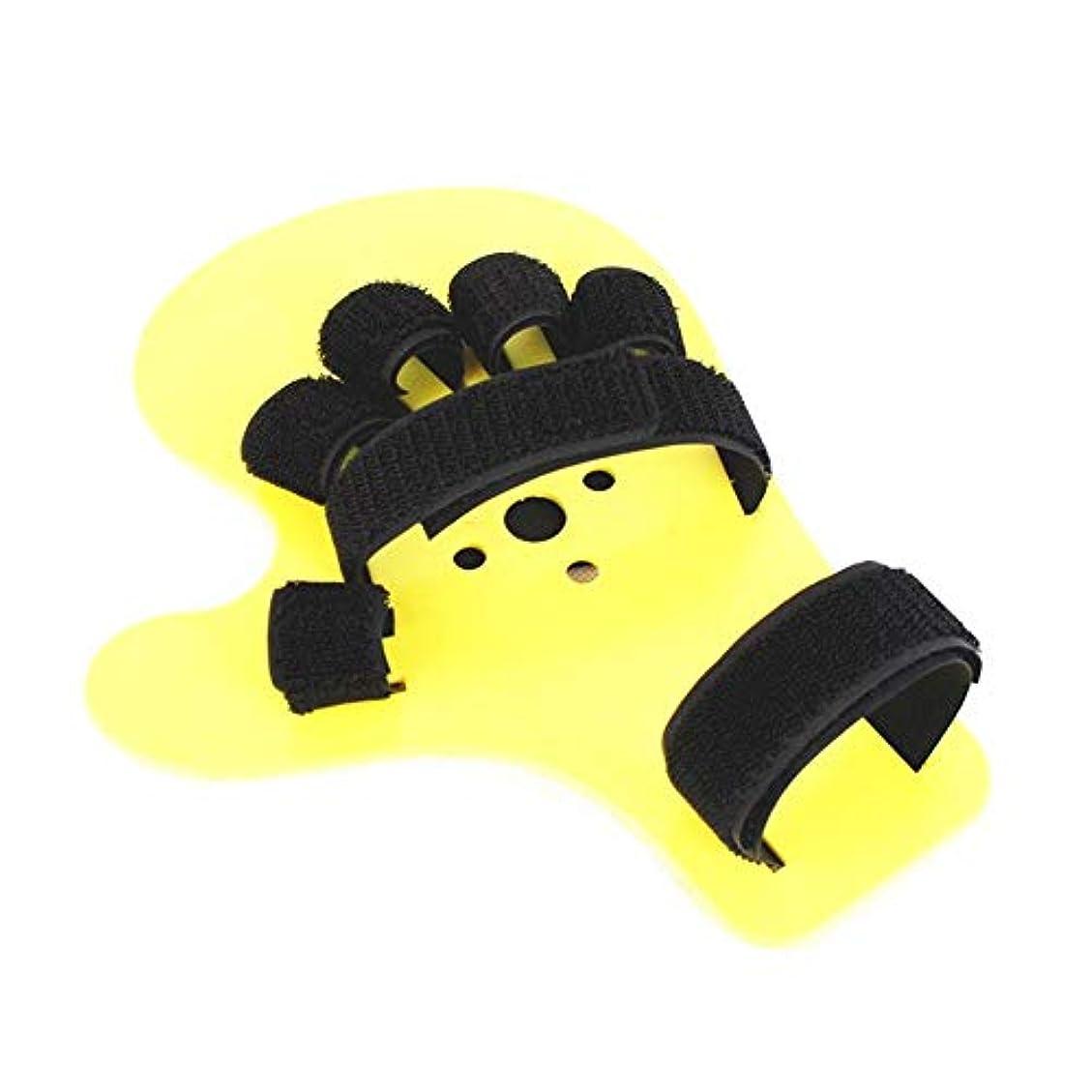 彼の彼のプラカード指の固定板、圧力指板分離器、ABS調節可能な大人の指の装具指先/片麻痺/
