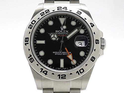(ロレックス) ROLEX 腕時計 エクスプローラー2 新型モデル SS 216570(ランダム) メンズ 中古