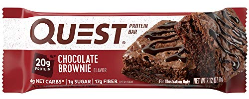 クエストニュートリション(Quest Nutrition) プロテインバー チョコレートブラウニー (60g x 12本)