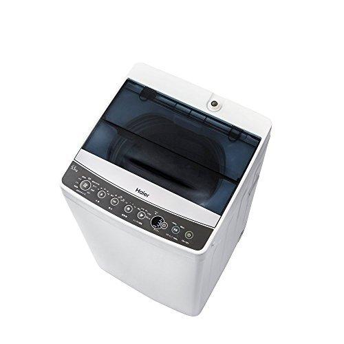 ハイアール 5.5kg 全自動洗濯機 ブラックHaier JW-C55A-K...