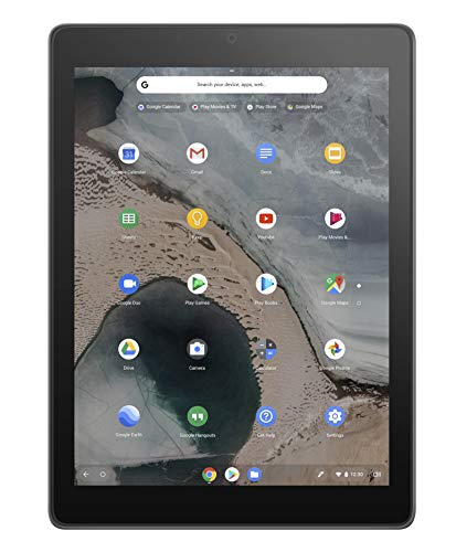 『ASUS Chromebook Tablet CT100PA (OP1 Hexa-core/4GB・eMMC 32GB/Mali-T860MP4)【日本正規代理店品】CT100PA-AW0010』のトップ画像