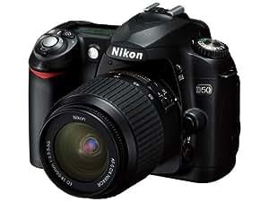Nikon D50 ブラック デジタル一眼レフカメラ レンズキット〔AF-S DX ズームニッコール ED 18~55mm F3.5~5.6G〕