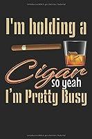 Meine perfekte Zigarre: Logbuch um deine Zigarren zu bewerten ♦ Dokumentiere saemtliche Aromen, Optik, Geschmaecker ♦ Im handlichen 6x9 Format fuer alle Zigarrenliebhaber ♦ Motiv: Holding cigar 14