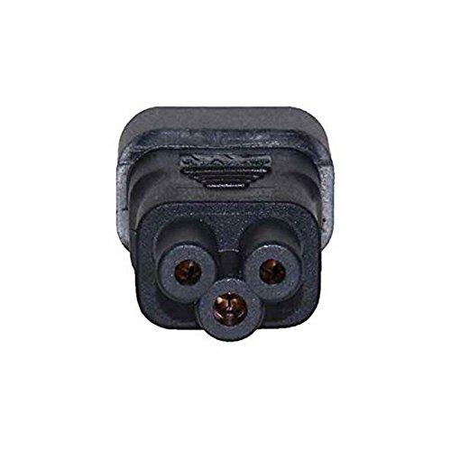 Goliton® IEC320 C14 C5ストレートレボリューションミッキーメス型ヘッド3P電源アダプタへ