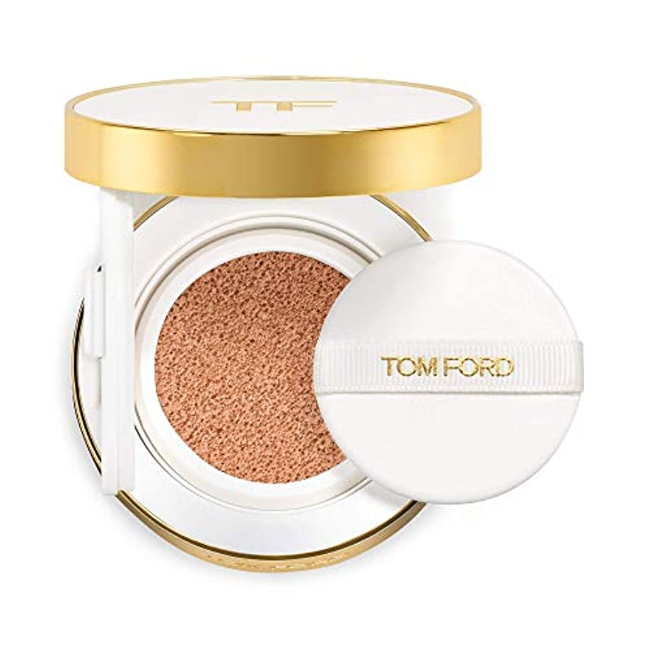 摘む淡い虫を数えるトム フォード Soleil Glow Tone Up Hydrating Cushion Compact Foundation SPF40 Refill - # 0.5 Porcelain 12g/0.42oz並行輸入品
