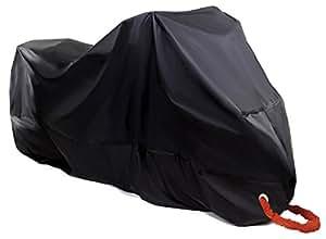 Mirai バイクカバー バイクを守る 改良素材 高品質190T 防水 防犯 防風 UVカット