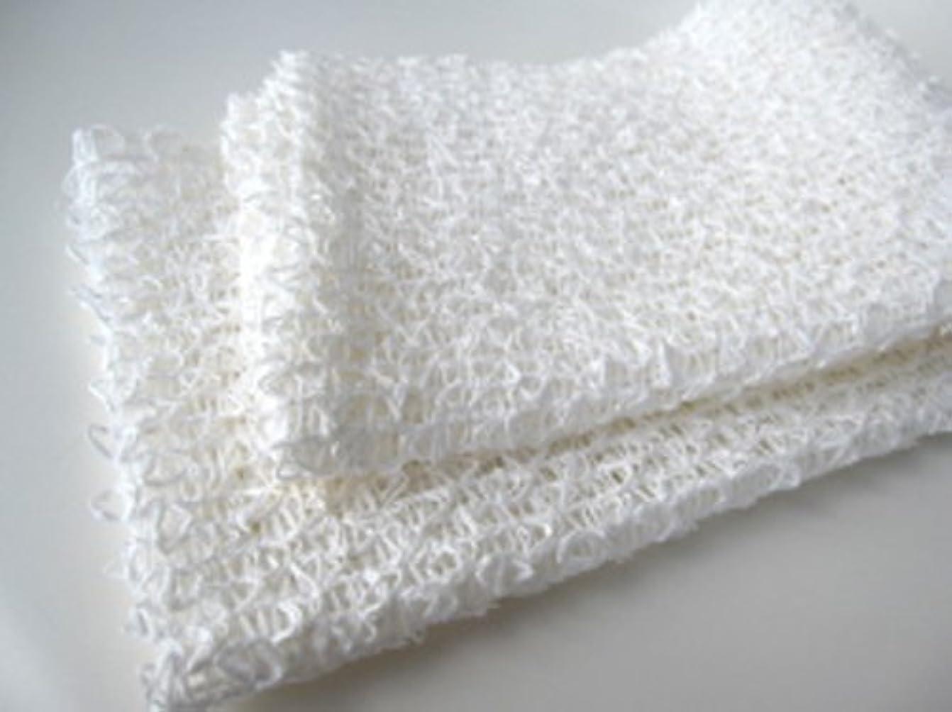 不測の事態予約作動する和紙浴用ボディタオル