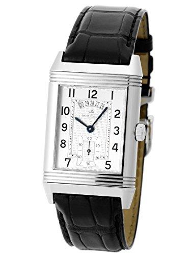 [ジャガールクルト] 腕時計 グランド レベルソ デュオ SS/レザー シルバー・グレー 手巻き Q3748421 [中古品] [並行輸入品]