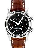 [ジラール・ペルゴ] 腕時計 GIRARD-PERREGAUX 49400.0.11.615 トラベラーII GMT ブラック文字盤 SS/レザー [中古品] [並行輸入品]