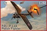 IBG 1/72 ポーランド空軍 PZL P.11A ガル翼戦闘機 プラモデル PB72517