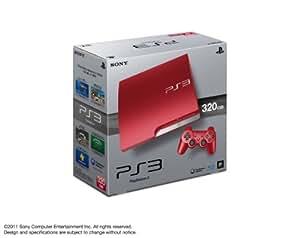 PlayStation 3 (320GB) スカーレット・レッド (CECH-3000BSR)【メーカー生産終了】