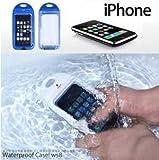 【全2色】iPhone 4 シリコン防水ケース ホワイト Waterproof Case for iPhone 4 (1032-1) / three-beans (iPhone 4)