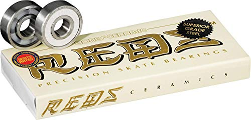 Bones Ceramic Reds Bearings 8 Pack Set