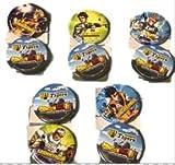 阪神タイガース×ドラゴンボール超コラボ 缶バッチ2個セット 鳥谷・北條・糸井・高山・原口 全5種セット