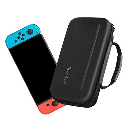 TechRise Nintendo Switch ケース 小物収納可能 防汚...