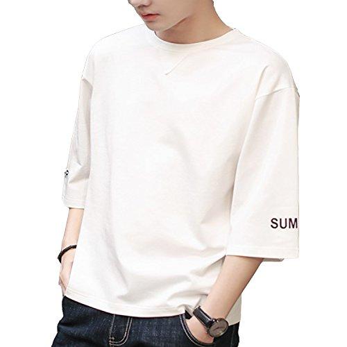 ビッグTシャツ メンズ 無地 Tシャツ 黒 ブラック 白 グレー オーバーサイズ Tシャツ ドロップショルダー