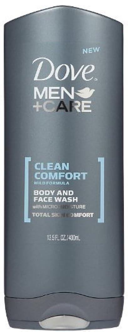 フロントフラフープ対象Dove Men +Care Body and Face Wash - Ultra Rich Velvet - 13.5 oz by Dove [並行輸入品]