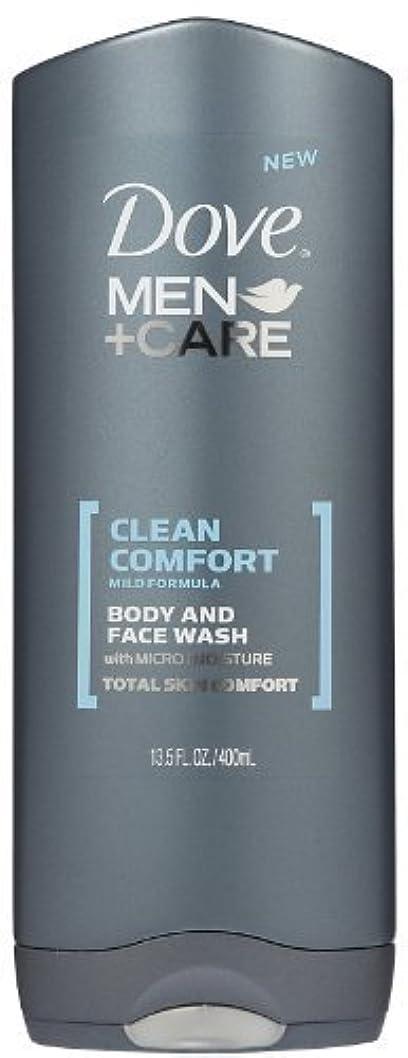 永続消える自然Dove Men +Care Body and Face Wash - Ultra Rich Velvet - 13.5 oz by Dove [並行輸入品]