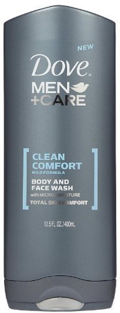 啓示彼自身ランドマークDove Men +Care Body and Face Wash - Ultra Rich Velvet - 13.5 oz by Dove [並行輸入品]